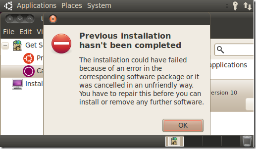 dpkg was interrupted you must manually kali linux