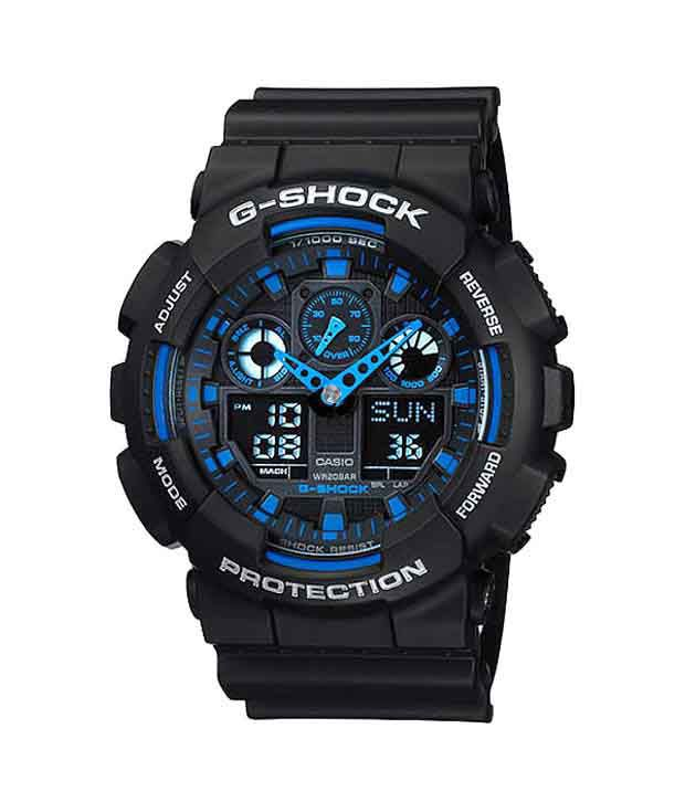 g shock black and gold manual