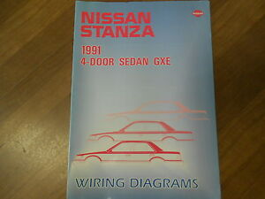 1991 nissan stanza repair manual