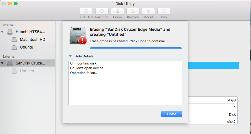 manually remove cd from macbook