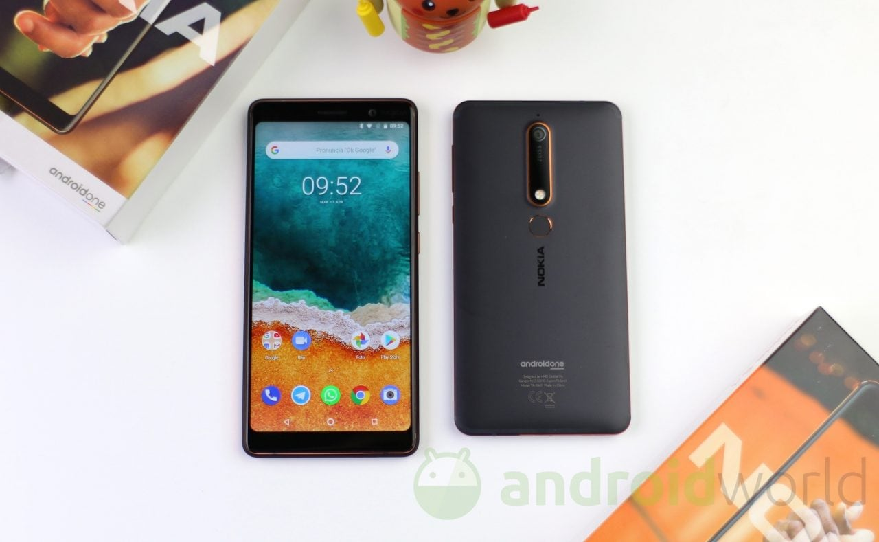 nokia 6.1 manual english android one