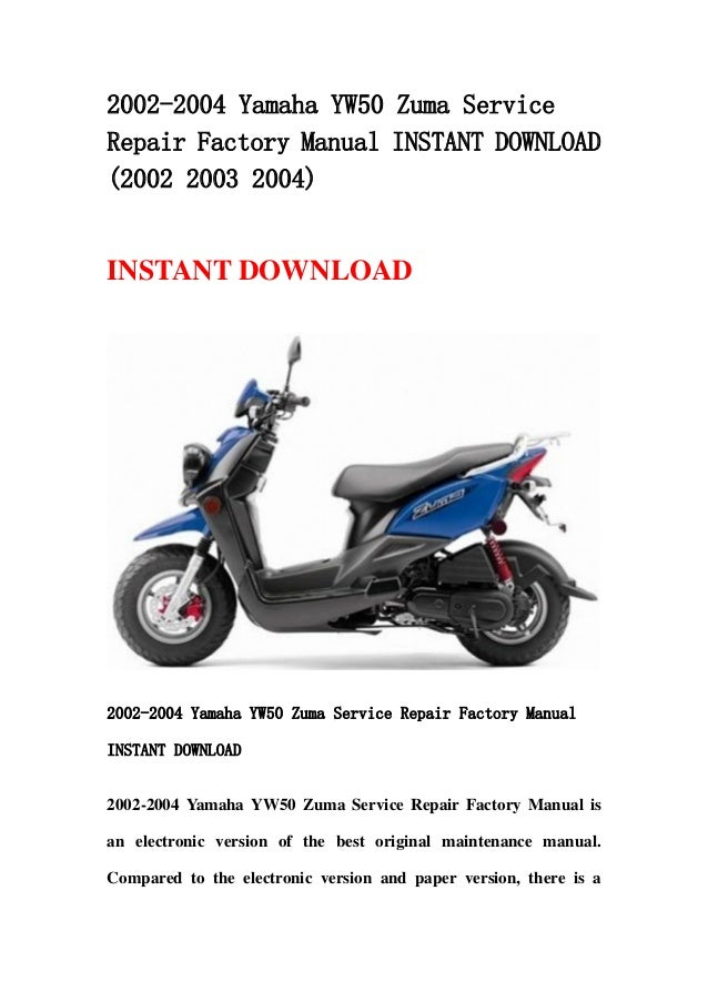 yamaha 2004 command link manual